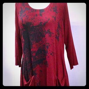 La Mouette tunic dress